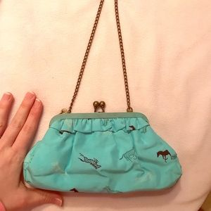 Small Clutch Purse with Chain